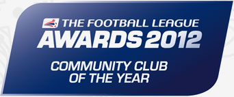 Rotherham United Community Sports Trust has been named the Coca-Cola Community Club of the Year at the Football League Awards 2012.