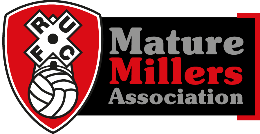 Mature Millers logo black background