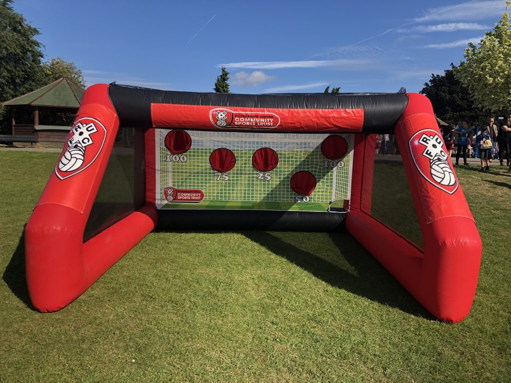 Inflatable Goal RUFC