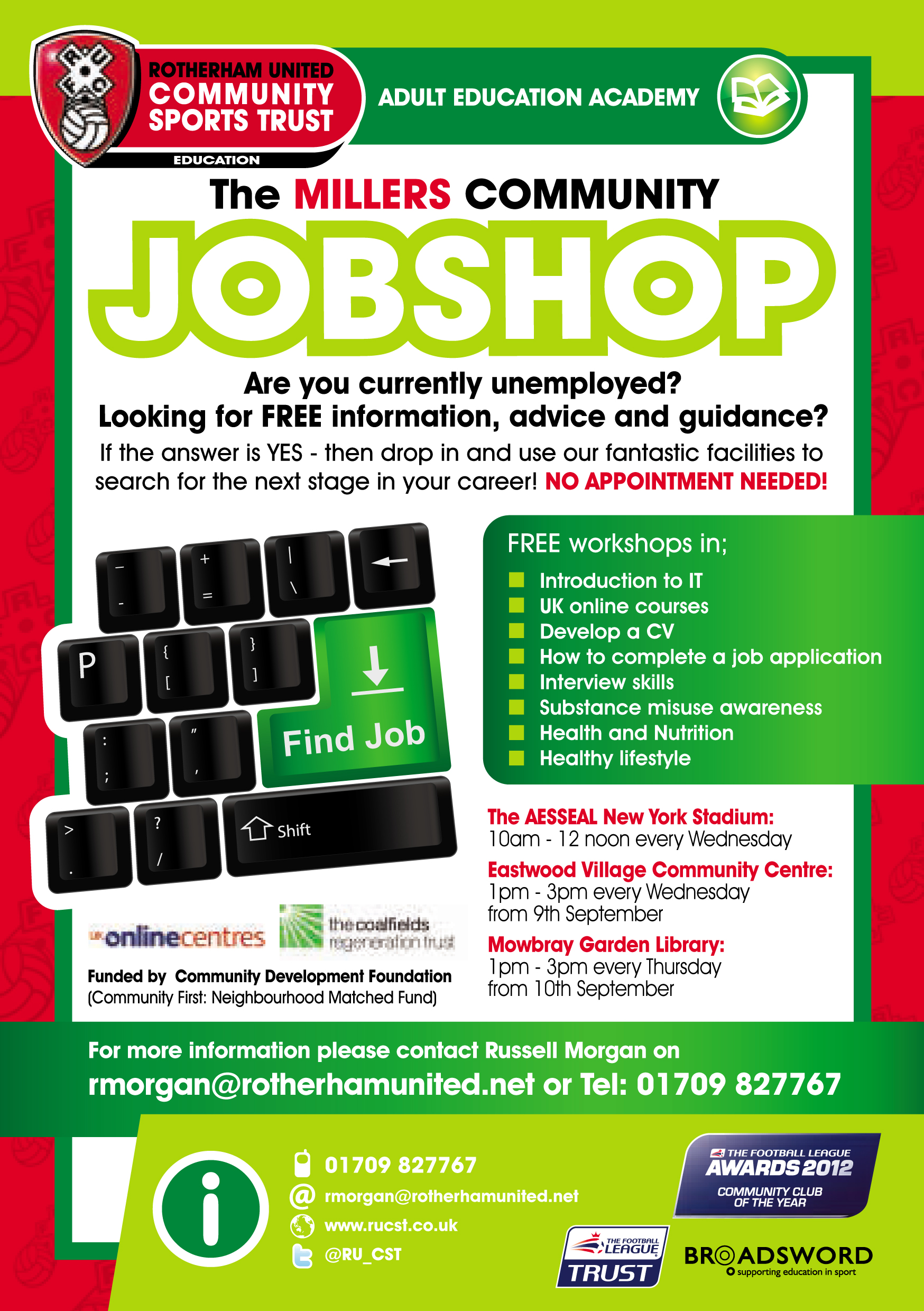 72987 Job Shop Pathways Flyers