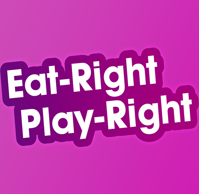 73535 Eat Right Play Right Flyer - HEALTH