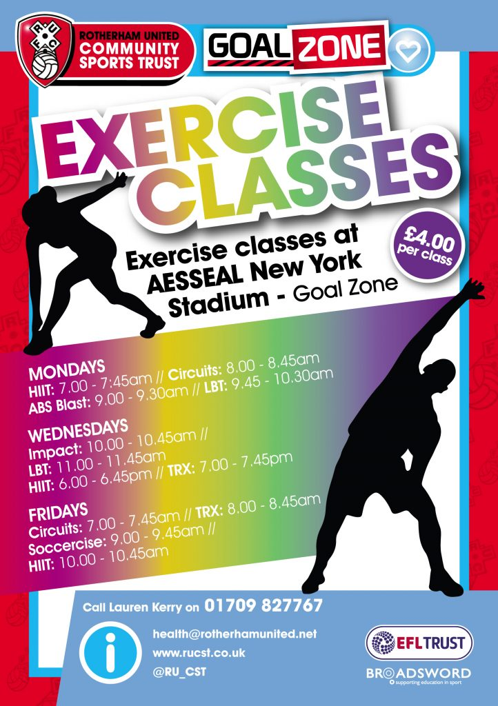75764 Exercise Classes Flyer - HEALTH