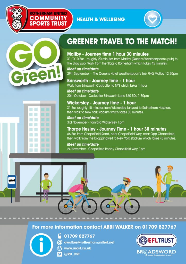 80238 Green Travel Flyer HEALTH