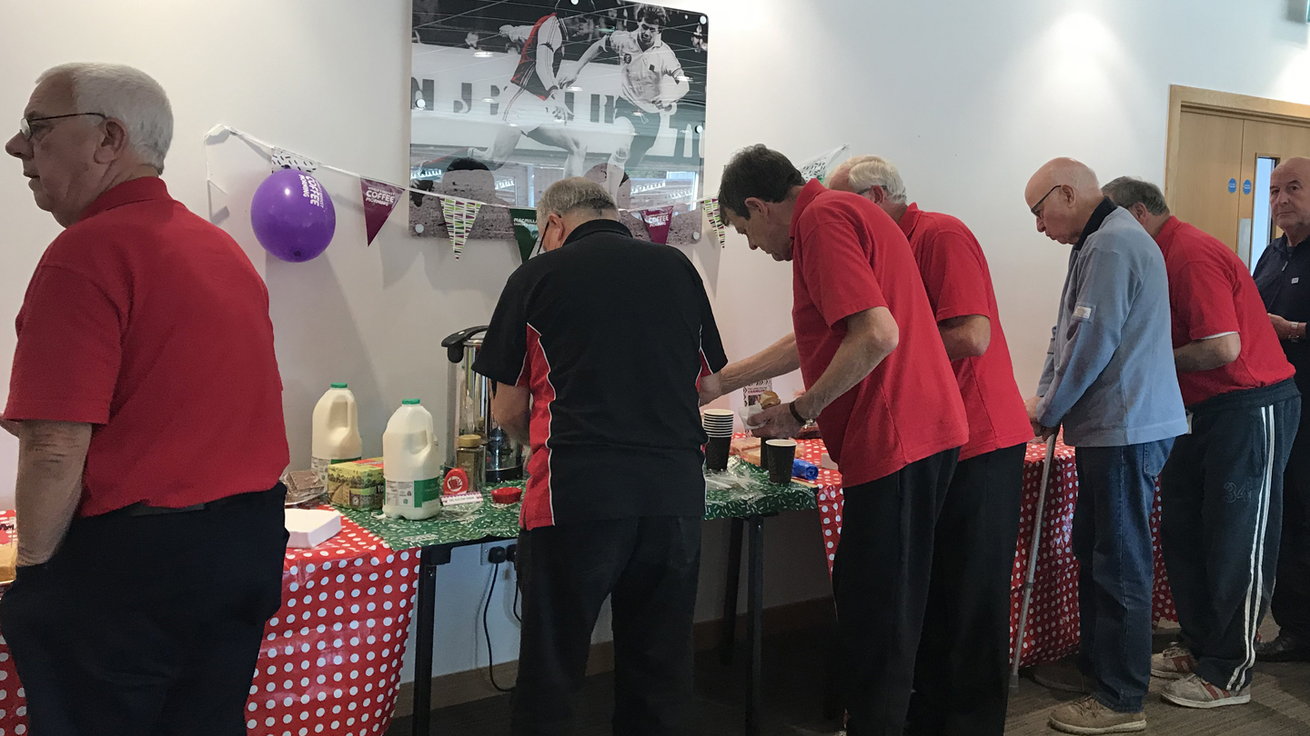 Macmillan coffee afternoon