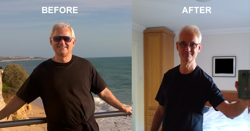 Man v Fat before after