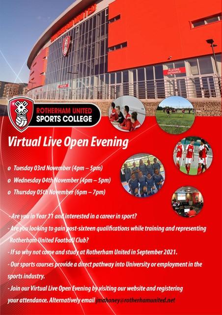 Rotherham United Cst Education Academy